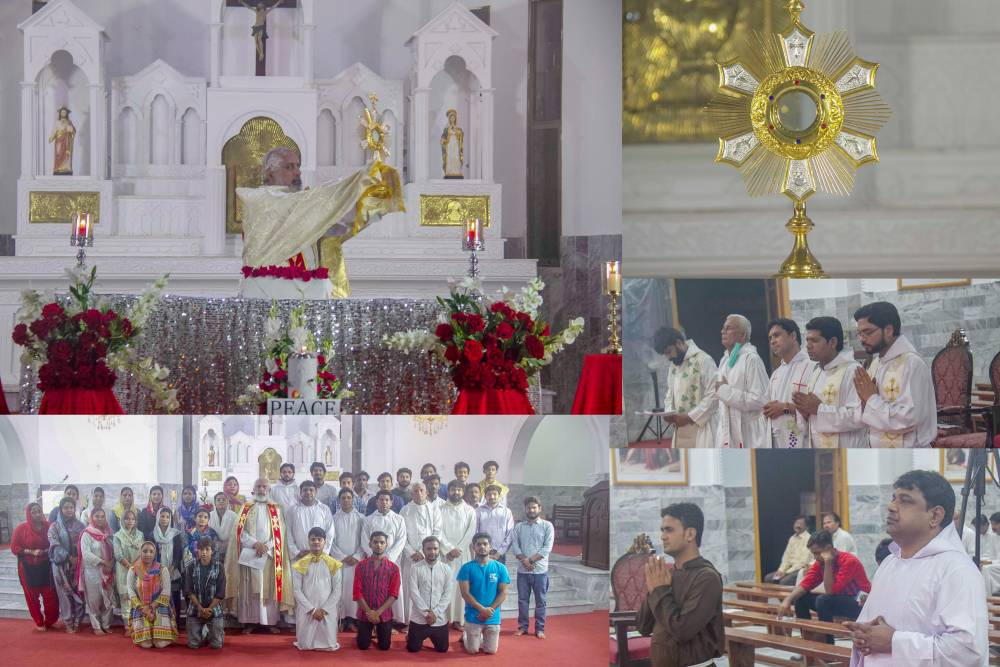 Report of Eucharistic Adoration for the Peace in the World